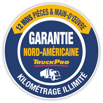 truckpro garantie nord américaine