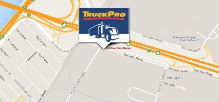 Google Map TruckPro