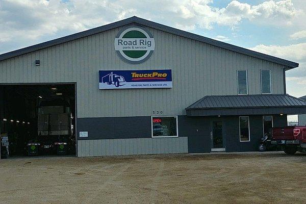 TruckPro : Road Rig Parts & Service Ltd. - Garage