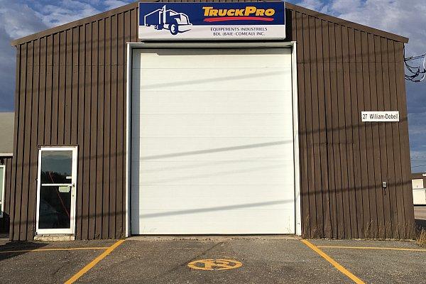 TruckPro : Équipements Industriels BDL (Baie-Comeau) Inc. - Garage