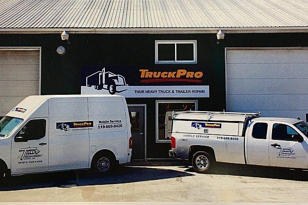 TruckPro : Thur Heavy Truck And Trailer Repair - Garage